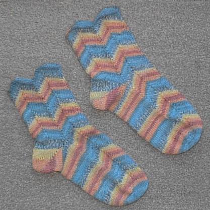 Pair of Zebedee Socks